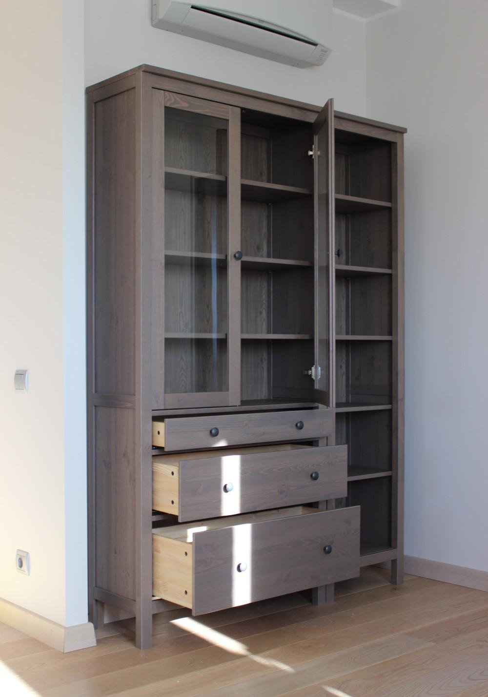 Идеи оформления гардеробной от ИКЕА. Шкафы серии СТОЛЬМЕН