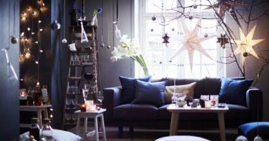Создаем праздничное настроение дома с ИКЕА