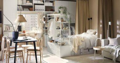 7 готовых решений из каталога ИКЕА 2021 для маленькой квартиры