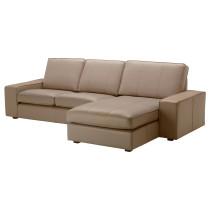 2-местный диван и козетка КИВИК бежевый артикуль № 999.046.98 в наличии. Онлайн магазин IKEA Беларусь. Недорогая доставка и монтаж.
