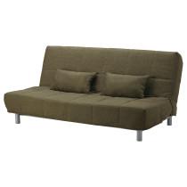 Чехол на 3-местный диван-кровать БЕДИНГЕ зеленый артикуль № 102.042.52 в наличии. Интернет сайт ИКЕА РБ. Недорогая доставка и соборка.