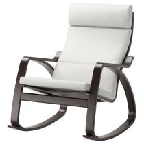 Кресло-качалка ПОЭНГ белый артикуль № 690.903.95 в наличии. Онлайн магазин ИКЕА РБ. Недорогая доставка и установка.