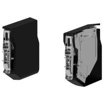 Маленькая петля для горизонтальный дверцы УТРУСТА черный артикуль № 002.427.49 в наличии. Онлайн сайт IKEA Минск. Недорогая доставка и монтаж.