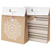 Подарочный пакет ВИНТЕР 2015 белый артикуль № 903.032.48 в наличии. Интернет сайт IKEA Минск. Недорогая доставка и монтаж.