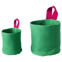 Набор корзин, 2 штуки СТИККАТ зеленый артикуль № 702.978.42 в наличии. Online магазин IKEA Беларусь. Быстрая доставка и установка.