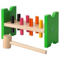 Блок с колышками и молотком МУЛА разноцветный артикуль № 702.948.91 в наличии. Онлайн сайт IKEA Минск. Быстрая доставка и установка.