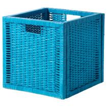 Корзина БРАНЭС бирюзовый артикуль № 302.916.01 в наличии. Интернет каталог IKEA РБ. Быстрая доставка и соборка.