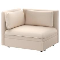 Секция дивана-кровати со спинкой ВАЛЛЕНТУНА бежевый артикуль № 791.495.50 в наличии. Онлайн каталог ИКЕА РБ. Быстрая доставка и установка.