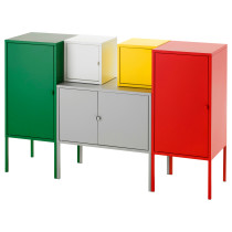 Комбинация для хранения ЛИКСГУЛЬТ белый/красный артикуль № 291.616.34 в наличии. Интернет сайт IKEA РБ. Недорогая доставка и установка.