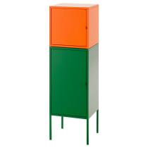 Комбинация для хранения ЛИКСГУЛЬТ зеленый артикуль № 891.616.07 в наличии. Интернет магазин IKEA Минск. Недорогая доставка и установка.