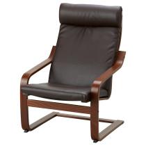 Кресло ПОЭНГ темно-коричневый артикуль № 792.038.01 в наличии. Онлайн магазин ИКЕА Республика Беларусь. Недорогая доставка и монтаж.