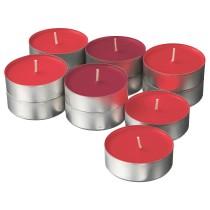 Аромат свеча в металической подставке СИНЛИГ красный артикуль № 903.500.89 в наличии. Интернет каталог IKEA РБ. Быстрая доставка и установка.
