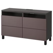 Тумба для ТВ с ящиками БЕСТО темно-коричневый артикуль № 091.938.29 в наличии. Интернет сайт IKEA Минск. Недорогая доставка и установка.
