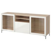 Тумба для ТВ с ящиками БЕСТО артикуль № 791.941.42 в наличии. Онлайн магазин IKEA РБ. Недорогая доставка и соборка.