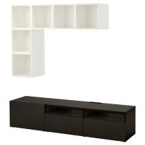 Комбинация для ТВ БЕСТО / ЭКЕТ артикуль № 092.044.13 в наличии. Онлайн каталог IKEA Беларусь. Недорогая доставка и монтаж.