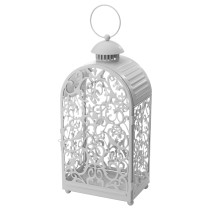 Фонарь для формовой свечи ГОТТГЁРА серый артикуль № 903.804.92 в наличии. Онлайн магазин IKEA Минск. Недорогая доставка и монтаж.