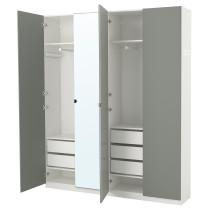 Гардероб ПАКС белый артикуль № 592.191.48 в наличии. Онлайн магазин IKEA Беларусь. Быстрая доставка и установка.
