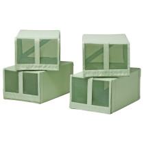 Коробка для обуви СКУББ светло-зеленый артикуль № 003.966.09 в наличии. Интернет сайт IKEA Беларусь. Быстрая доставка и соборка.