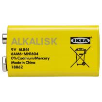 Батарейка щелочная АЛКАЛИСК артикуль № 203.622.98 в наличии. Online магазин IKEA Минск. Быстрая доставка и соборка.