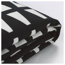 Чехол на 2-местный диван-кровать ЛИКСЕЛЕ черный/белый артикуль № 503.830.58 в наличии. Онлайн сайт IKEA Беларусь. Недорогая доставка и монтаж.