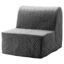 Кресло-кровать ЛИКСЕЛЕ ХОВЕТ серый артикуль № 092.407.36 в наличии. Онлайн магазин IKEA Беларусь. Быстрая доставка и соборка.