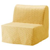 Кресло-кровать ЛИКСЕЛЕ ЛЁВОС желтый артикуль № 692.407.43 в наличии. Интернет магазин IKEA Республика Беларусь. Недорогая доставка и монтаж.